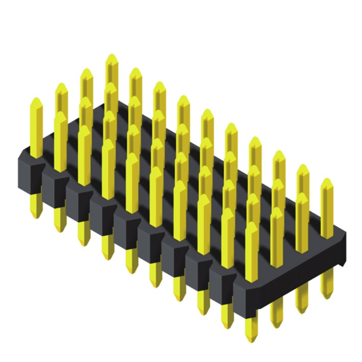 Pin Header 2.0mm 4 Row Straight Type