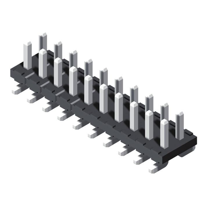 Pin Header 4.2mm 2 Row H=2.5mm SMT Type
