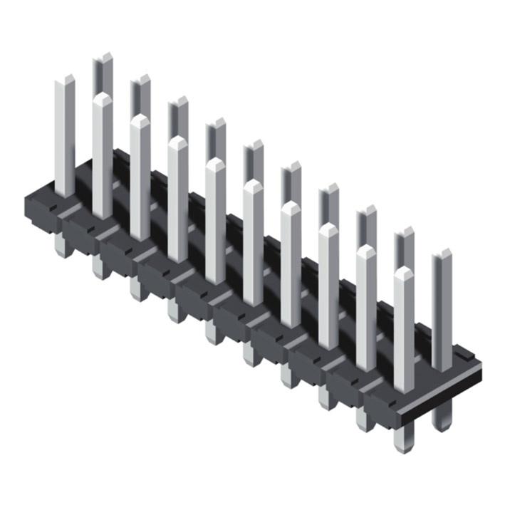 Pin Header 4.2mm 2 Row H=2.5mm Straight Type
