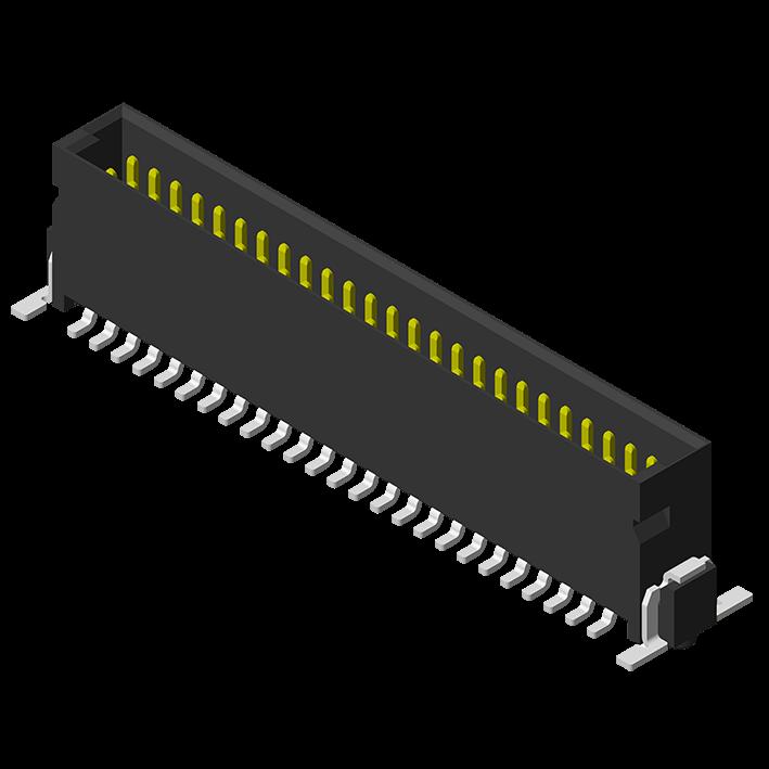 High Speed Board to Board 1.27mm Male H=8.2