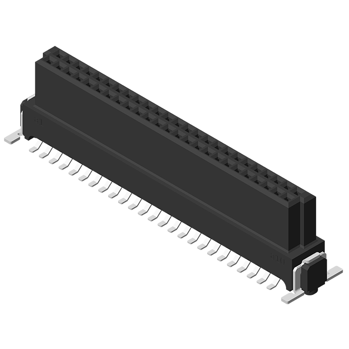 High Speed Board to Board 1.27mm Female H=9.0