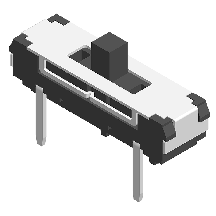 Slide Switch DIP 180° 4P H=5.5mm