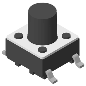 Tact Switch SMT 180° 4P H=7.0mm