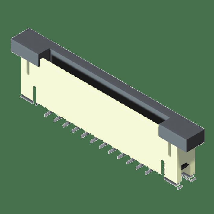FPC/FFC 0.5mm ZIF SMT Type