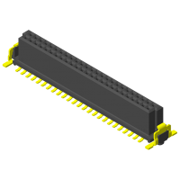 High Speed Board to Board 1.27mm Female H=6.2