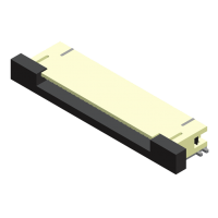 FPC/FFC 0.5mm ZIF SMT Type Side Entry