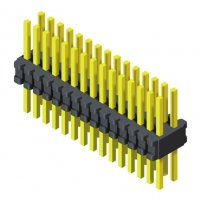 Pin Header 0.8mm 2 Row H=1.4mm Straight Type