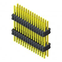 Pin Header 0.8mm 2 Row H=1.4mm Stack Straight Type
