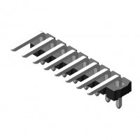 Pin Header 3.96mm 1 Row H=3.2mm Right Angle Type