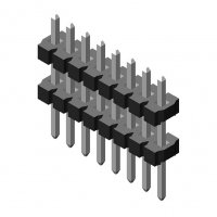 Pin Header 3.96mm 1 Row H=3.2mm Stack Straight Type