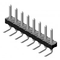 Pin Header 5.08mm 1 Row H=3.5mm Right Angle Type