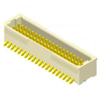 1001 Series 1.0mm Wafer SMT Straight Type 2 Row W/O Post