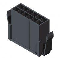 3000 Series 3.0mm Housing Male 2 Row W/O Ear
